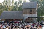 Die Einweihung der Schwarzen Mühle - Krabatmühle- in Schwarzkollm (Hoyerswerda) am 3. 10. 2010