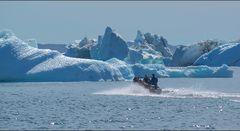 die eisbergdrift