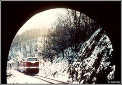 Die Eisenbahn im Winter mit ihren fotografischen Reizen