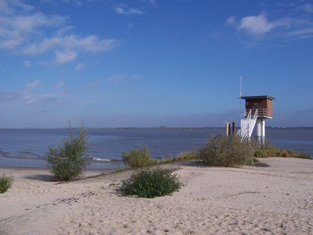 """Die Elbe wartet auf den Winter bei """"Krautsand"""""""