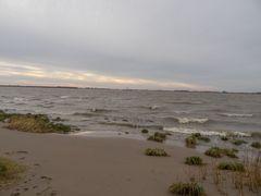 die Elbe............Flut..........Wind.....