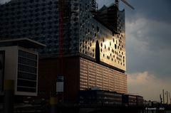Die Elbphilharmonie - in einem anderem Licht