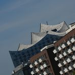 Die Elbphilharmonie... unbearbeitet