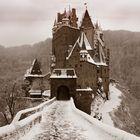 Die Eltz im Winter
