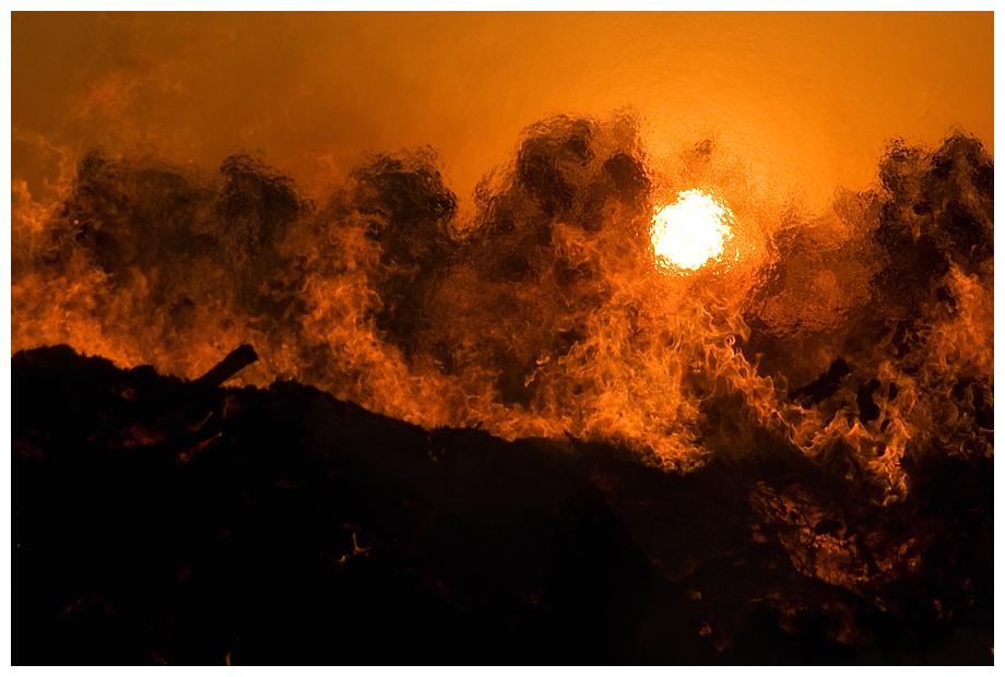 Die Energie des Feuers