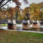 Die englische Brücke im Pücklerpark Bad Muskau