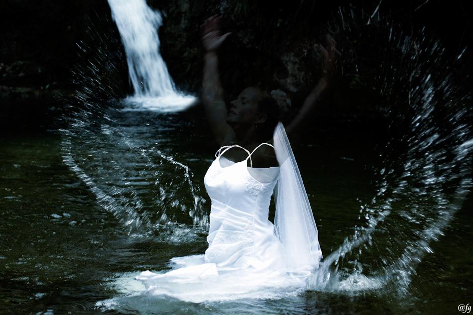 die entschwebte Braut