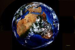 Die Erde von oben