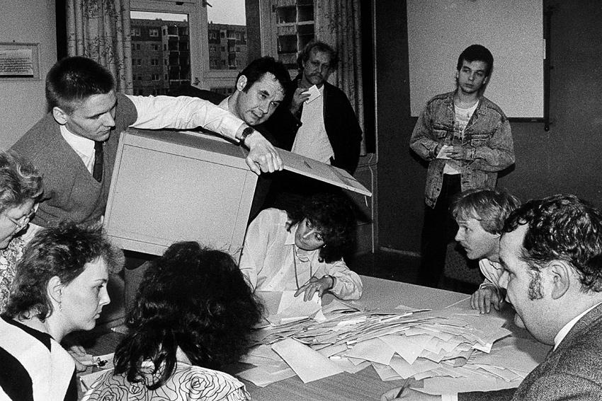 Die erste freie DDR-Volkskammerwahl 1990 - und die letzte!