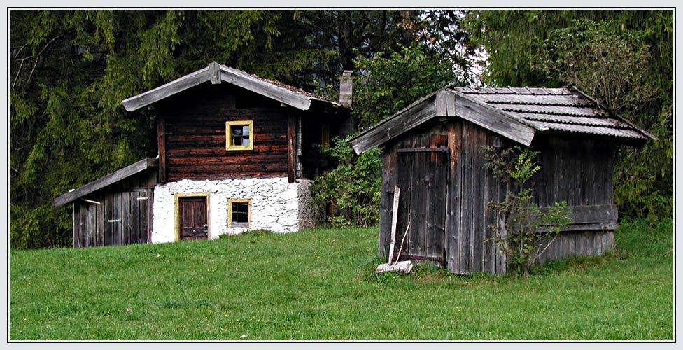 Die ersten Häuser in Österreich ...
