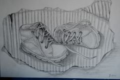 Die ersten Schuhe...