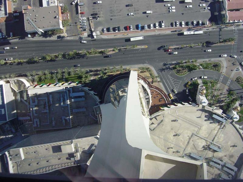 Die etwas andere Aussicht vom Stratosphere Tower