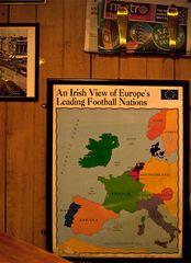 Die europäische Fußballlandkarte aus irischer Sicht