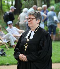 Die evangelische Bischöfin Ilse Junkermann