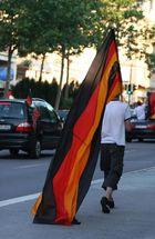 Die Fahne kann nicht groß genug sein