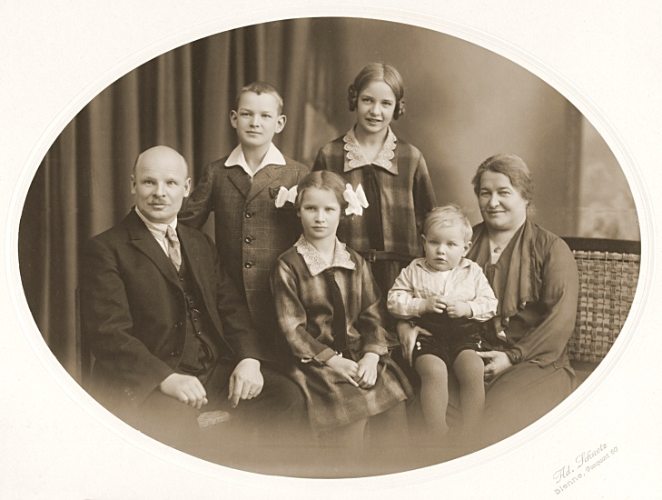 Die Familie meiner Grosseltern