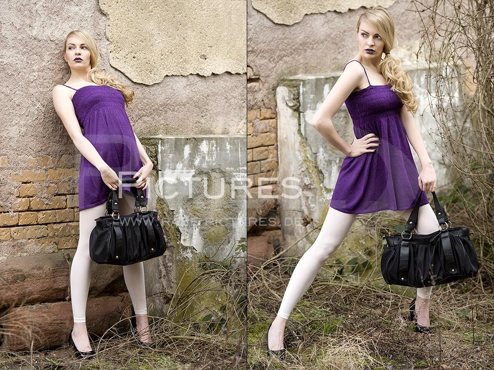 die Farbe Violett.....