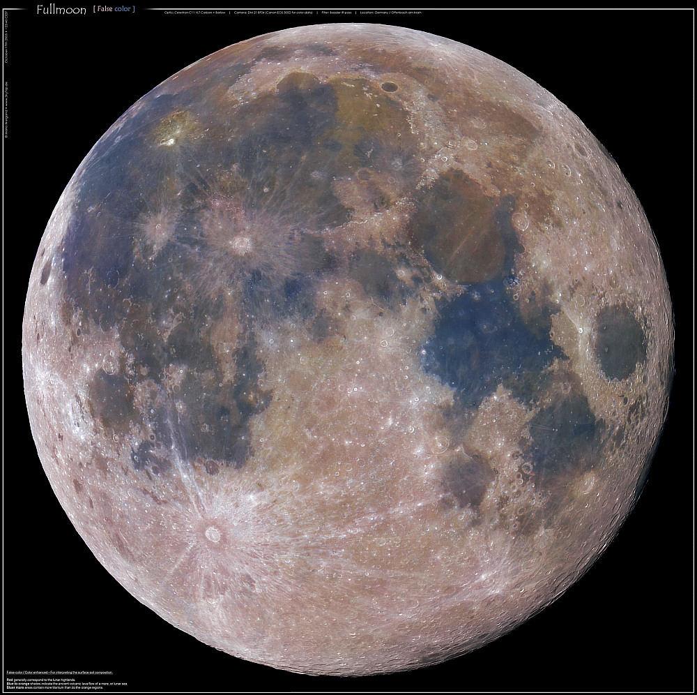 Die Farben des Mondes