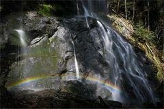 die Farben des Regenbogens