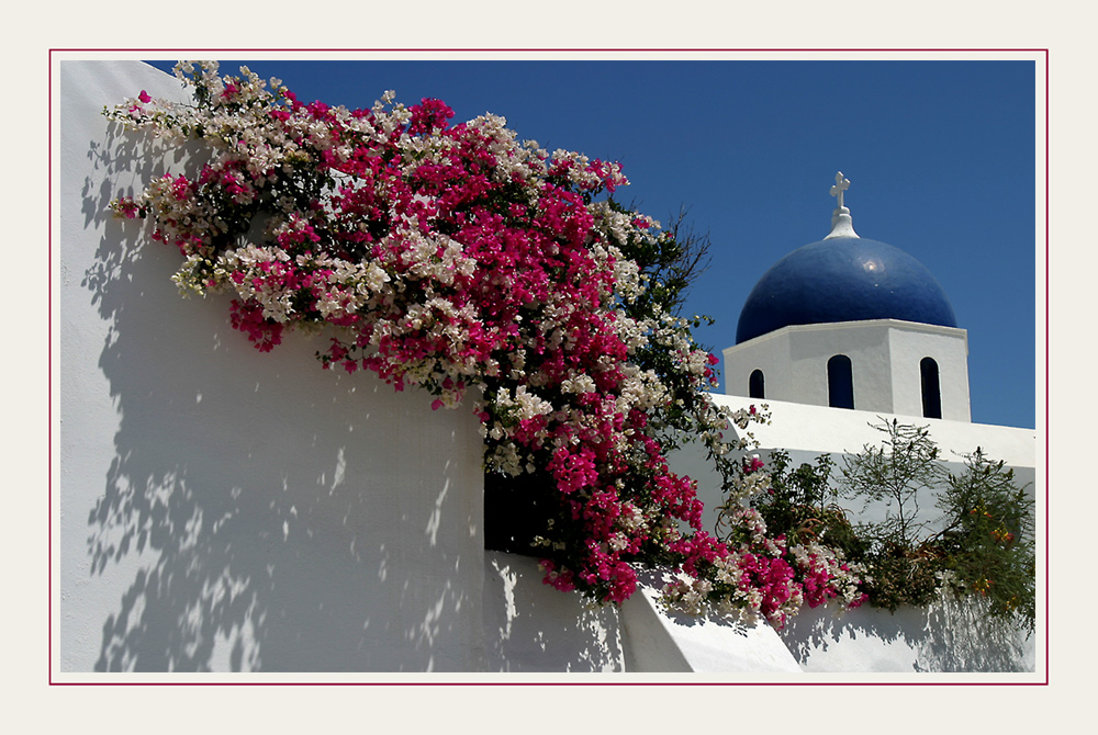 die Farben Santorini's