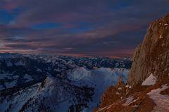Die Farben vor Sonnenaufgang