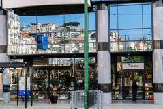 Die Fassade des Hotel Mondial am Largo Martim Moniz