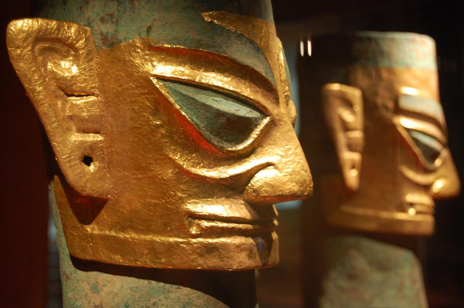 Die faszinierenden Gesichter von Sanxingdui