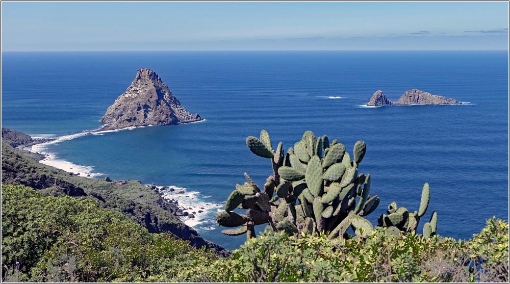 Die Felseninseln vor Las Palmas