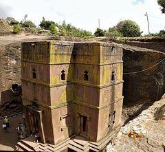die Felsenkirchen von Lalibela.....................