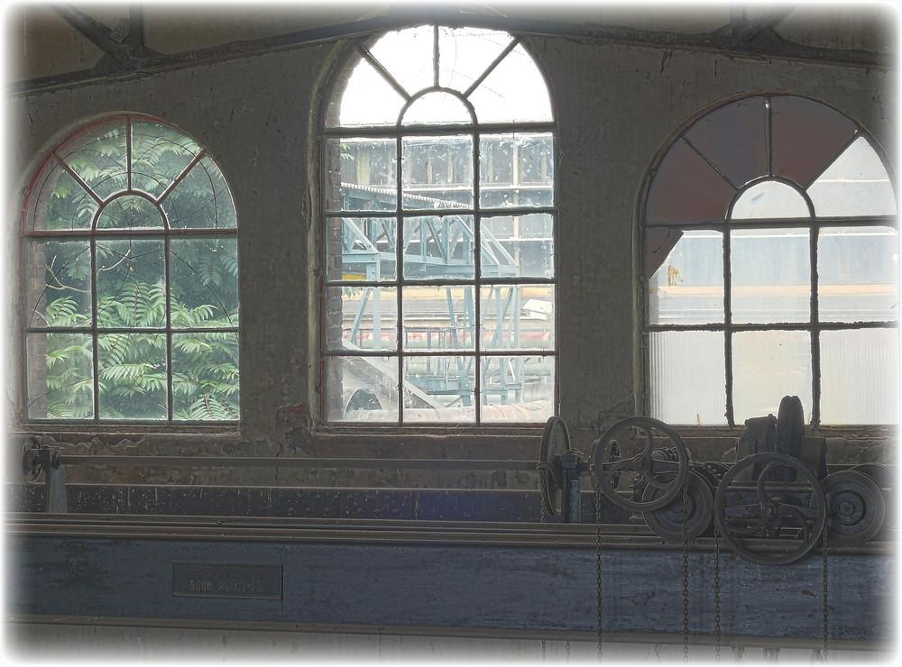 Die Fenster zum Hof...
