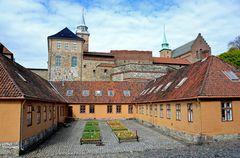 Die Festung Akershus im Herzen von Oslo