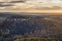 ... die Festung Königsstein ...