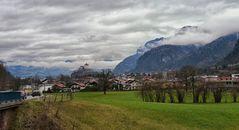 Die Festung Kufstein ist das Wahrzeichen der Stadt