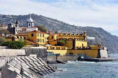 Die Festung Sao Tiago in Funchal auf Madeira