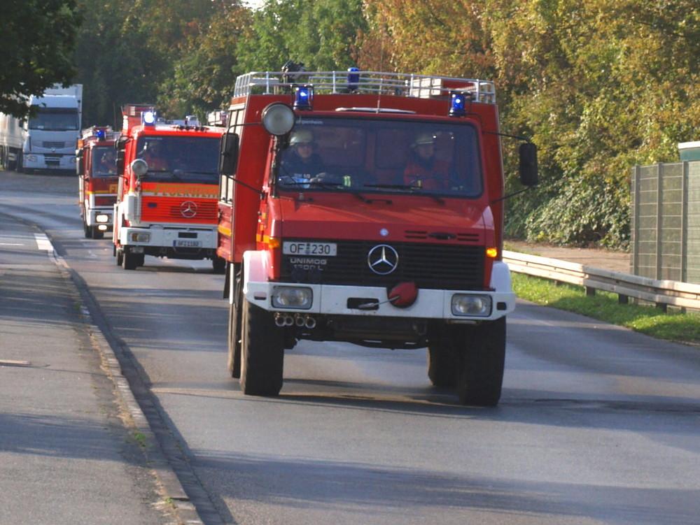 Die FF Offenbach rückt an