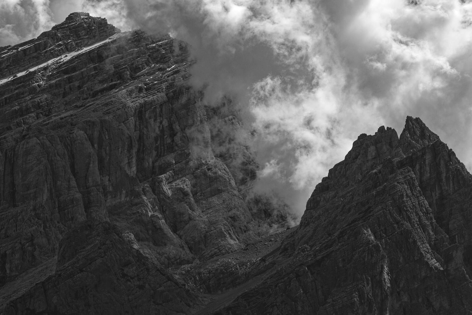 Die finsteren Eingeweide des Monte Antelao
