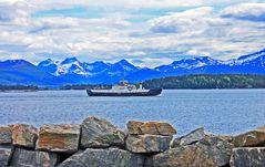 Die Fjord1 vor Molde