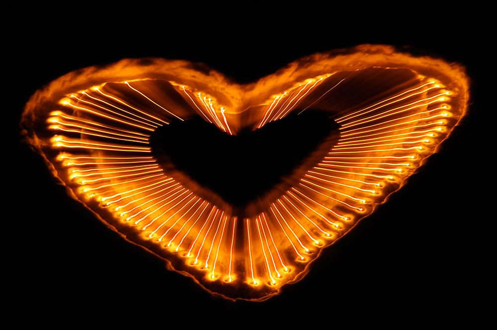 Die Flamme meines Herzens