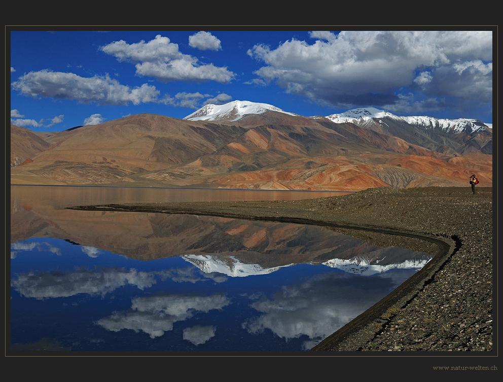 Die Fotografin und der See
