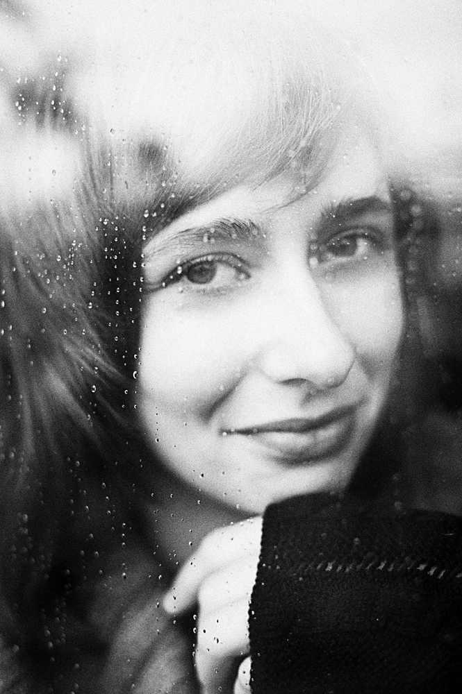 Die Frau am Fenster....