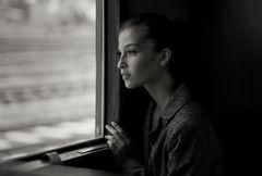 Die Frau im Zug