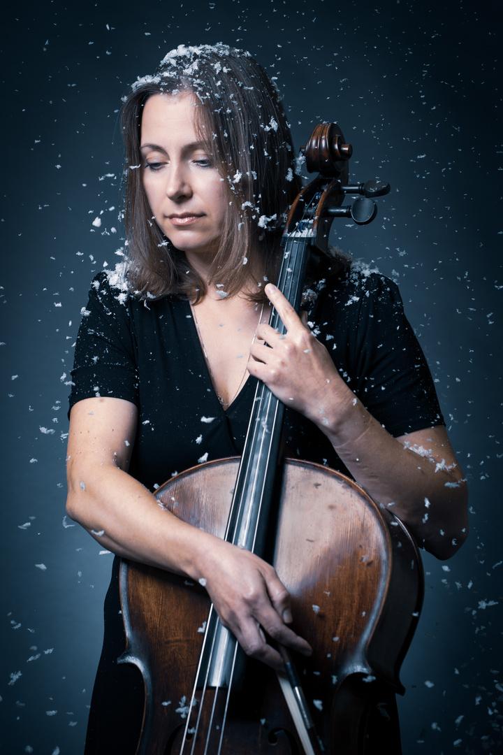 Die Frau mit dem Cello