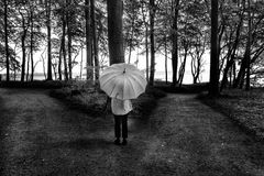 Die Frau mit dem Regenschirm muß sich mal wieder entscheiden (83)