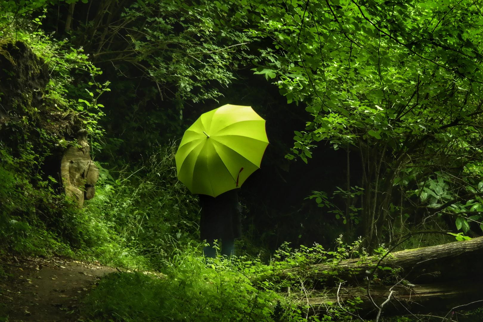 Die Frau mit dem Regenschirm; startet erneut  ins ungewisse... (109)