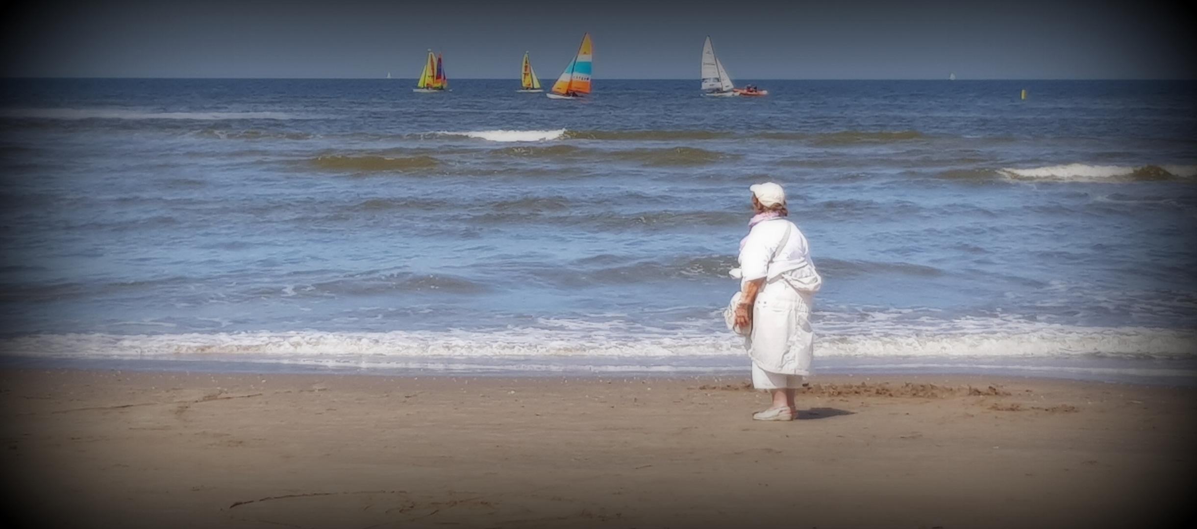 Die Frau und das Meer