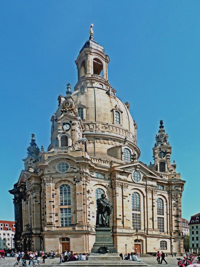 Die Frauenkirche Dresden Foto & Bild | reportage