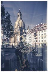 ... die Frauenkirche in Dresden ...