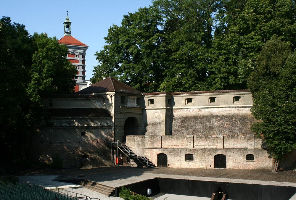 Die Freilichtbühne in Augsburg