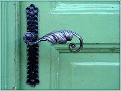 Die fremde Tür