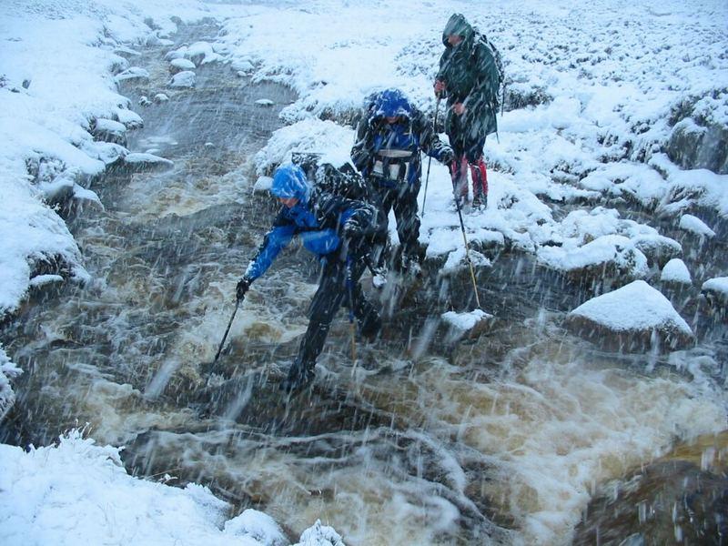 Die Freuden des Winterbergsteigens in Schottland